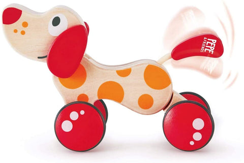 Enjoy fast, free nationwide shipping!  Owned by a husband and wife team of high-school music teachers, Redtailtoys.com is your one stop shop for quality toys & gifts like our Red/Orange Walk-A-Long Puppy Wooden Pull Toy.