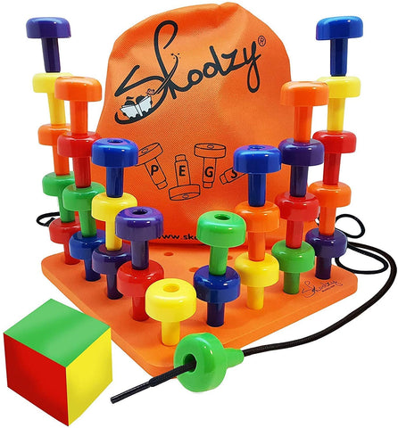 Enjoy fast, free nationwide shipping!  Owned by a husband and wife team of high-school music teachers, Redtailtoys.com is your one stop shop for quality toys & gifts like our 30 Lacing Pegs for Learning Games.