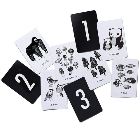 Enjoy fast, free nationwide shipping!  Owned by a husband and wife team of high-school music teachers, Redtailtoys.com is your one stop shop for quality toys & gifts like our High Contrast Nature Number Cards.