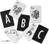 Enjoy fast, free nationwide shipping!  Owned by a husband and wife team of high-school music teachers, Redtailtoys.com is your one stop shop for quality toys & gifts like our High Contrast Animal Alphabet Cards.