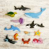 Enjoy free fast shipping on ethically made, custom handcrafted toys & baby shower gifts at Redtailtoys.com like our Handmade Heirloom-Quality Hardwood Ocean Animals Coral Reef Puzzle Toys.  Shop quality Montessori, educational, learning, Waldorf, building, creative, free-play, imaginative play, safe, eco-friendly, imported and USA-handmade wooden toys.