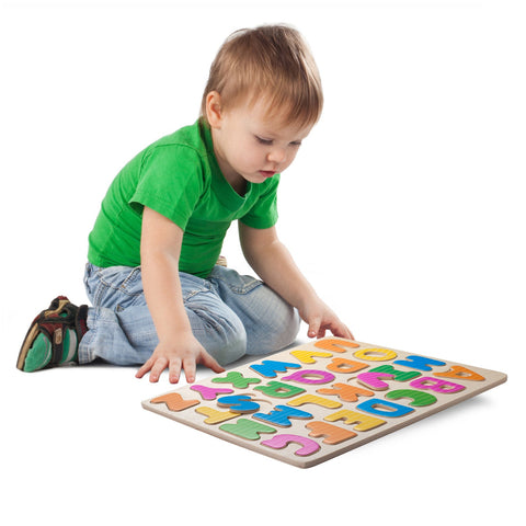 Enjoy fast, free nationwide shipping!  Owned by a husband and wife team of high-school music teachers, Redtailtoys.com is your one stop shop for quality toys & gifts like our Wooden Puzzle - Alphabet A-Z.