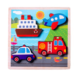 Enjoy free fast shipping on ethically made, custom handcrafted toys & baby shower gifts at Redtailtoys.com like our Chunky Wooden Board Puzzle - Vehicles.  Shop quality Montessori, educational, learning, Waldorf, building, creative, free-play, imaginative play, safe, eco-friendly, imported and USA-handmade wooden toys.