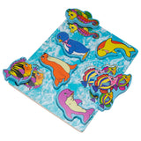 Chunky Wooden Board Puzzle - Sea Animals