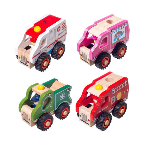 Enjoy free fast shipping on ethically made, custom handcrafted toys & baby shower gifts at Redtailtoys.com like our Wooden Toy Vehicles 4pc Set.  Shop quality Montessori, educational, learning, Waldorf, building, creative, free-play, imaginative play, safe, eco-friendly, imported and USA-handmade wooden toys.