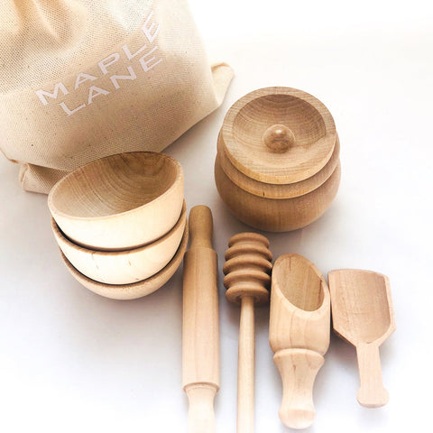 Enjoy fast, free nationwide shipping!  Owned by a husband and wife team of high-school music teachers, Redtailtoys.com is your one stop shop for quality toys & gifts like our Handmade Montessori Scoop Transfer Toy Set.