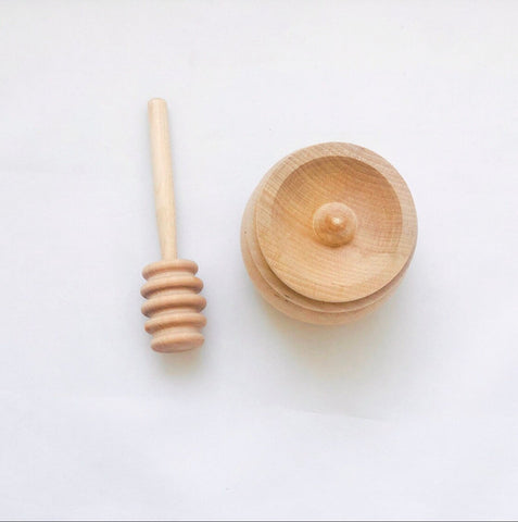 Handmade Montessori Scoop Transfer Toy Set