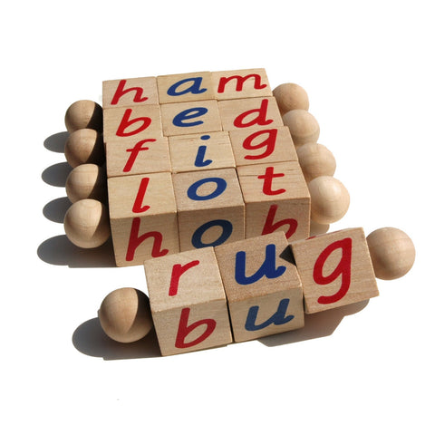 Enjoy fast, free nationwide shipping!  Owned by a husband and wife team of high-school music teachers, Redtailtoys.com is your one stop shop for quality toys & gifts like our Handmade Montessori Original Phonetic Reading Blocks.