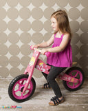 Enjoy free fast shipping on ethically made, custom handcrafted toys & baby shower gifts at Redtailtoys.com like our Wooden Balance Bike - Pink.  Shop quality Montessori, educational, learning, Waldorf, building, creative, free-play, imaginative play, safe, eco-friendly, imported and USA-handmade wooden toys.