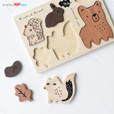Enjoy fast, free nationwide shipping!  Owned by a husband and wife team of high-school music teachers, Redtailtoys.com is your one stop shop for quality toys & gifts like our Hardwood Board Puzzle - Woodland Animals.