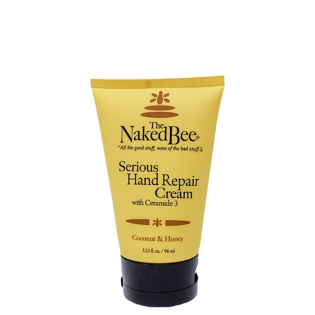 The Naked Bee Serious Hand Repair Cream 3.25 Oz.