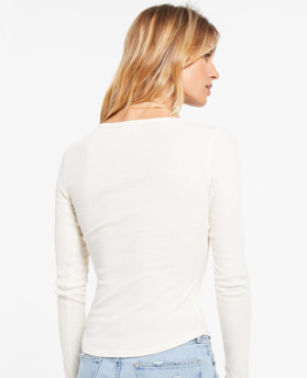 BLAINE RIB LONG SLEEVE HENLEY by Z Supply