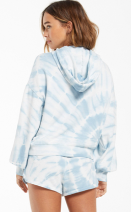 EVA SPIRAL TIE-DYE HOODIE by Z Supply