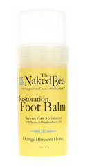 The Naked Bee, Restoration Foot Balm.