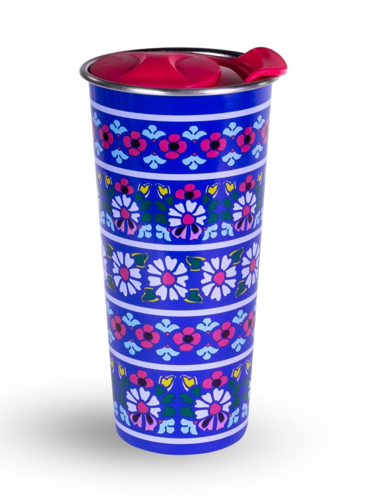 Vera Bradley. Travel Mug. Romantic Paisley