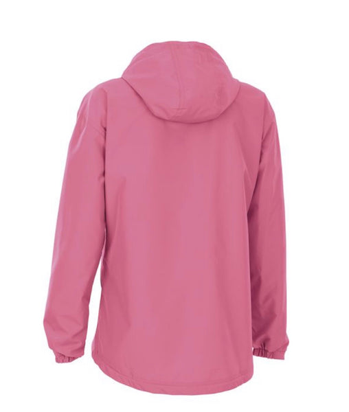 Charles River. WOMEN'S CHATHAM ANORAK SOLID. Pink.
