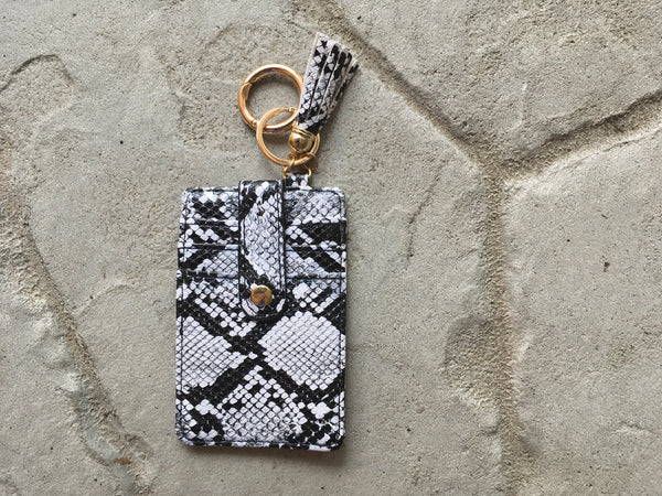 Card Holder/ID Wallet Key Chain