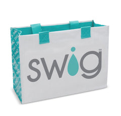 SWIG. Laminated Tote Bag