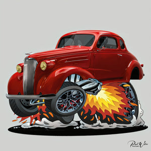 Hot Rod Car-Toons