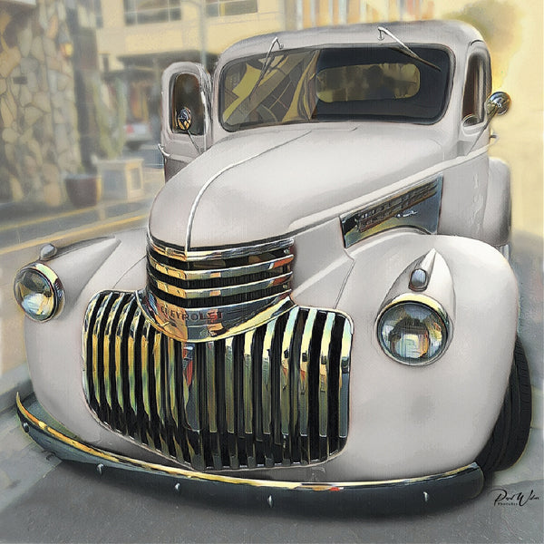 1942 Chevy Pickup Truck Canvas Art Print