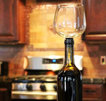 Wine Glass Bottle Attachment