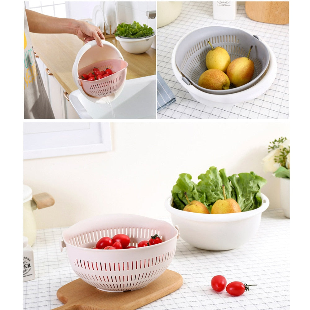 Kitchen Vegetable Strainer Bowl