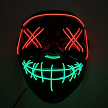 Load image into Gallery viewer, LED Purge Mask - Red & Green