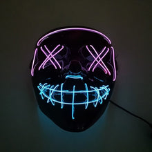 Load image into Gallery viewer, LED Purge Mask - Purple & Blue