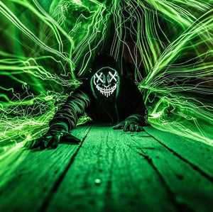 LED Purge Mask - Green
