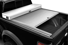 Load image into Gallery viewer, TRUCK COVERS USA® | CRT240WHITE American Work Tool Box Hard Retractable Manual Tonneau Cover - myTonneau