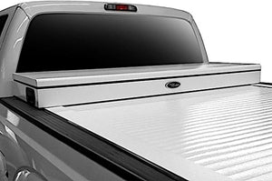 TRUCK COVERS USA® | CRT544WHITE American Work Tool Box Hard Retractable Manual Tonneau Cover - myTonneau