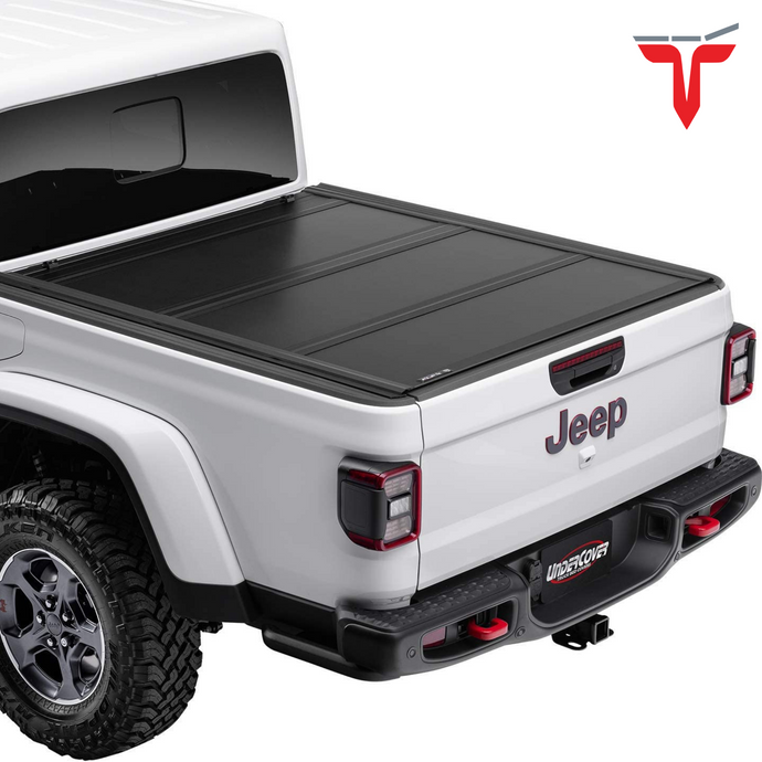 Undercover UX32010 Ultra Flex Hard Folding Truck Bed Tonneau Cover | Fits 2020 Jeep Gladiator 5' Bed
