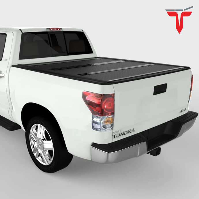 Undercover FX41014 Flex Hard Folding Truck Bed Tonneau Cover | Fits 16-20 Toyota Tacoma 5' Bed