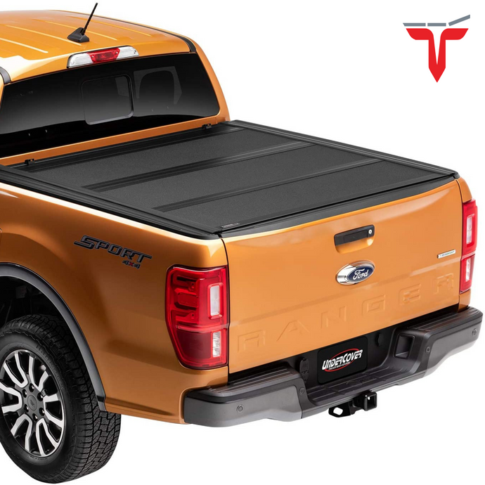 Undercover AX22022 ArmorFlex Hard Folding Truck Bed Tonneau Cover | Fits 19-20 Ford Ranger 5' Bed