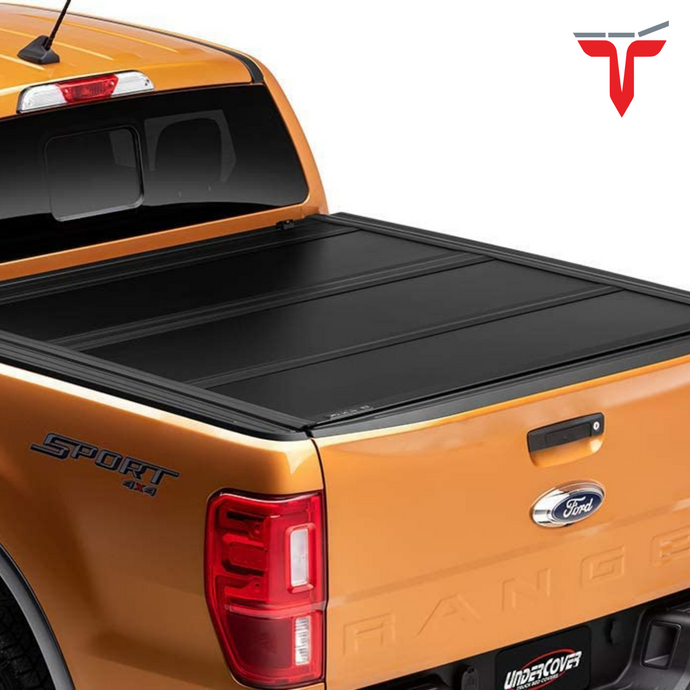 Undercover UX22022 Ultra Flex Hard Folding Truck Bed Tonneau Cover | Fits 19-20 Ford Ranger 5' Bed