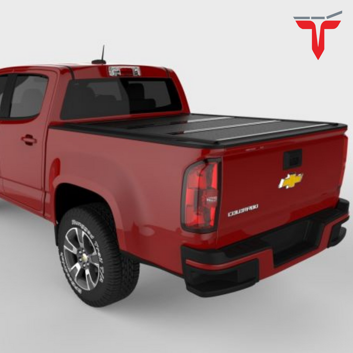 Undercover FX11003 Flex Hard Folding Truck Bed Tonneau Cover | Fits 15-20 Chevrolet Colorado/GMC Canyon 6' Bed