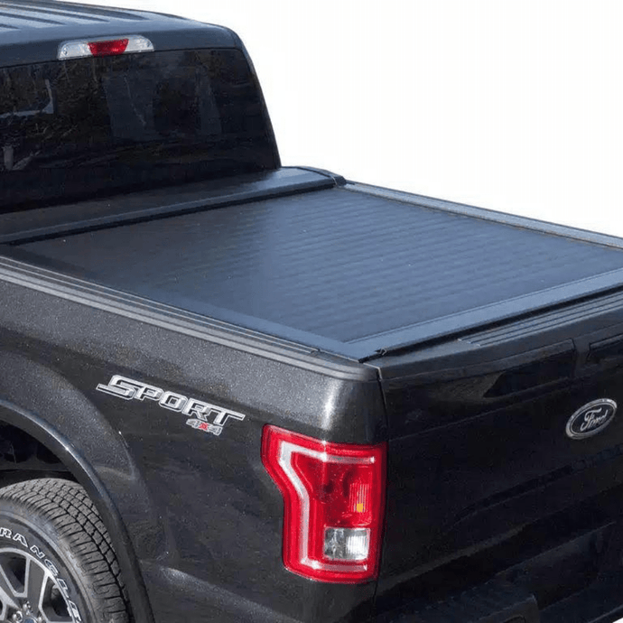 Pace Edwards by Leer® Switchblade Hard Retractable Manual Tonneau Cover Pace Edwards by Leer Retractable - myTonneau