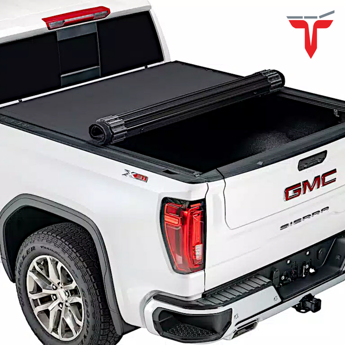 TruXedo Sentry CT 1572216 Hard Rolling Truck Bed Tonneau Cover | Fits 14-18, 2019 Limited/Legacy GMC Sierra & Chevrolet Silverado 1500, 2500, 3500 8' bed