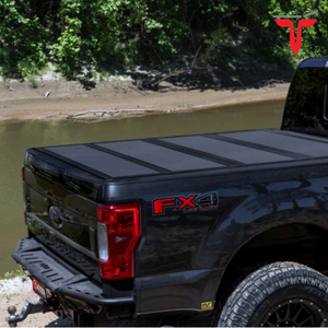 "BAK™ 448330 BAKFlip MX4 Hard Folding Truck Bed Tonneau Cover | Fits 2017-20 Ford Super Duty 6'9"" Bed"