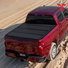 "Load image into Gallery viewer, BAK™ 448330 BAKFlip MX4 Hard Folding Truck Bed Tonneau Cover | Fits 2017-20 Ford Super Duty 6'9"" Bed"