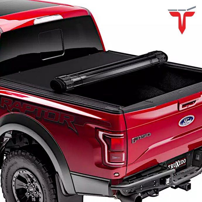 TruXedo Sentry 1598701 Hard Rolling Truck Bed Tonneau Cover | Fits 15-20 Ford F-150 8' bed