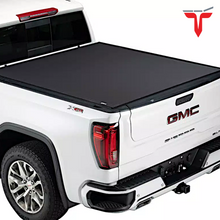 "Load image into Gallery viewer, TruXedo Pro X15 1463701 Soft Roll Up Truck Bed Tonneau Cover | Fits 2007-20 Toyota Tundra w/o Track System 5'6"" bed"