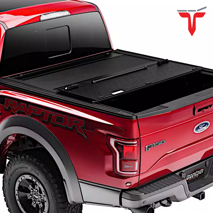Undercover AX42014 ArmorFlex Hard Folding Truck Bed Tonneau Cover | Fits 16-20 Toyota Tacoma 5' Bed