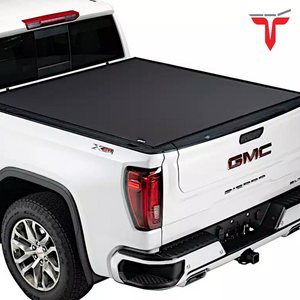 "TruXedo Pro X15 1463801 Soft Roll Up Truck Bed Tonneau Cover | Fits 2007-20 Toyota Tundra w/Track System 5'6"" bed"