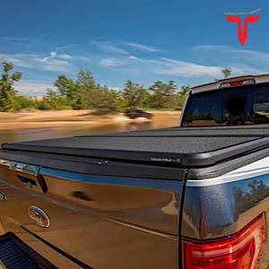 "EXTANG 83426 SOLID FOLD 2.0 Hard Folding Truck Bed Tonneau Cover | Fits 2019-20 Dodge RAM W/Rambox ""New Body Style,"" Fits with and without Multi-Function (Split) Tailgate 6'4"" Bed"