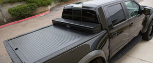 TRUCK COVERS USA® | CRJR544XB American Work Jr. Tool XBox Line-X Hard Retractable Metal Tonneau Cover CRJR544XBOX - myTonneau