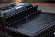 Load image into Gallery viewer, TRUCK COVERS USA® | CRJR142XB American Work Jr. Tool XBox Line-X Hard Retractable Metal Tonneau Cover CRJR142XBOX - myTonneau