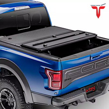 "Load image into Gallery viewer, EXTANG 62480 ENCORE Hard Folding Truck Bed Tonneau Cover | Fits 2015-20 Ford F150 6'6"" Bed"