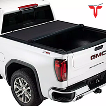 "Load image into Gallery viewer, TruXedo Pro X15 1463801 Soft Roll Up Truck Bed Tonneau Cover | Fits 2007-20 Toyota Tundra w/Track System 5'6"" bed"