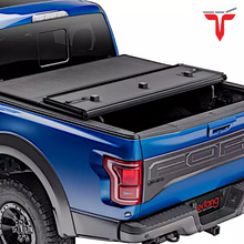 "Load image into Gallery viewer, EXTANG 83445 SOLID FOLD 2.0 Hard Folding Truck Bed Tonneau Cover | Fits 2014-18, 19 Legacy Chevy/GMC Silverado/Sierra 1500 5'8"" Bed"